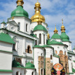 Ancient cathedral of the Ukrainian city Kyiv — Stock Photo #63982247