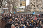 Dignity March in the Ukrainian capital — Stock Photo