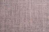Close-up of the homespun cloth — Stock Photo