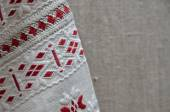 Ukrainian traditional embroidery — Stock Photo