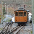 Electrical rack railroad in the mountain — Stock Photo #70366323
