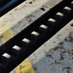 Rails of the rack railroad — Stock Photo #71422161
