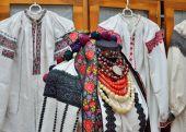 Ukrainian female vyshyvanka — Stock Photo