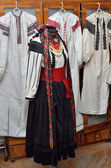 Ukrainian female folk costume — Stock Photo