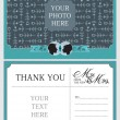 Wedding Thank You Notes — Stock Vector #52539031