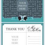 Wedding Thank You Notes — Stock Vector #52539031