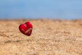 Heartshape souvenir — Stock Photo