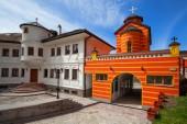 Klasztor prawosławny — Zdjęcie stockowe