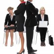 Serious business people — Stock Photo #59419111