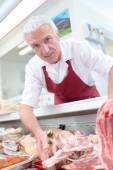 Butcher — Stock Photo
