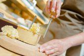 Cheese preparation — Stock fotografie