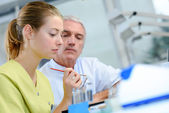 Dental assistant — Stock Photo