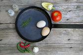 Ready for breakfast — Stock Photo