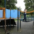 Boy on a playground — Stock Photo #53527395