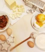 Creating a Recipe — Stock Photo