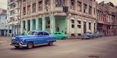 HAVANA, CUBA-DECEMBER 20-30 - An old american car on the street — Stock Photo