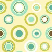 Заказанные круги бесшовный фон — Cтоковый вектор