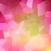 Colorful abstract crystal background — Stock Vector