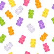 Seamless gummy bears pattern — Stock Vector #51982993