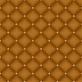 Seamless velvet quilted background — Stock Vector