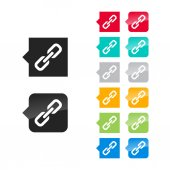 Link icon — Stock Vector