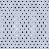 Seamless perforated metal pattern — Stockvektor