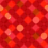 Seamless overlapping circles texture — Stock Vector