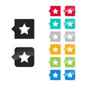 Favorite, best, star icon — Stock Vector
