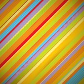 Abstract colorful stripes background — Stock Vector
