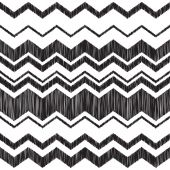 Seamless zig zag embroidery pattern — Stock Vector