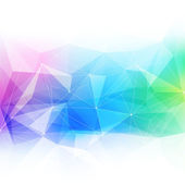 Colorful abstract crystal background. — Stock Vector