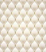 Quilted seamless pattern. Cream color. — Stockvector