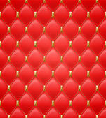 Quilted seamless pattern. Red color. — Stockvector
