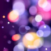 Abstract colorful bokeh blurry background. — ストックベクタ