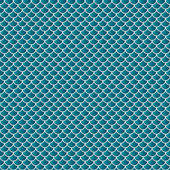 Squama fish snake lizard scales seamless background. — Vetor de Stock