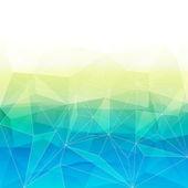 多彩抽象水晶背景. — 图库矢量图片