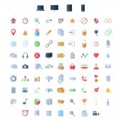 Set of icons for ui user interface mobile devices and web applications. — Stock Vector