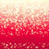 キラキラ輝く魔法の背景が光る。新しい年とクリスマスのデザイン. — ストックベクタ