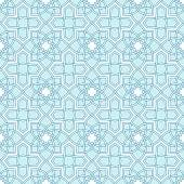 Arabesque seamless beautiful background pattern. — Stockvektor