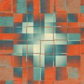 抽象的复古 Grunge 纹理和背景, — 图库照片