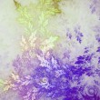 Light colorful fractal plant, digital artwork for creative graphic design — Stock Photo #65979201