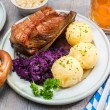 Bavarian meal — Stock Photo #52678335