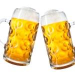 Mugs of beer — Stock Photo #54219347