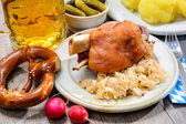 German Pork Knuckle — Stock Photo