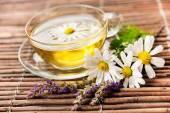Tazza di tè alle erbe — Foto Stock