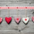 Red hearts — Stock Photo #57524527