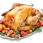 Roast turkey — Stock Photo #58259127