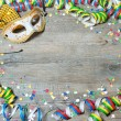 Colorful carnival background — Stock Photo #61878111