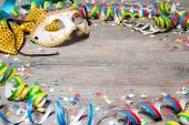 Colorful carnival background — Stock Photo
