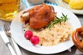 German Pork Knuckle — Stock Photo